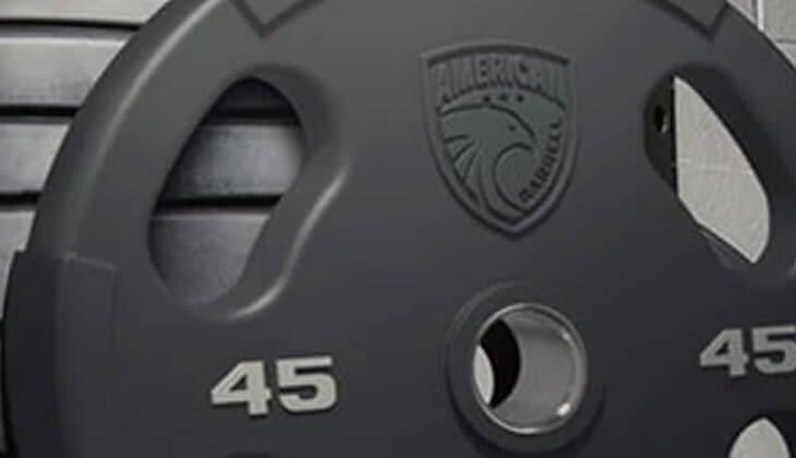 weight 45 - american barbells